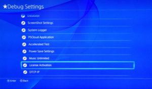 Mise à jour PlayStation 4 8.50