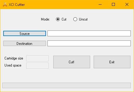 XCI-Cutter Tool v1 0 - Gx-Mod com