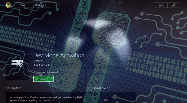 Execution de code Win32 sur Xbox One Devmode